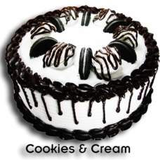 Cookies And Cream Dome by Bake & Churn