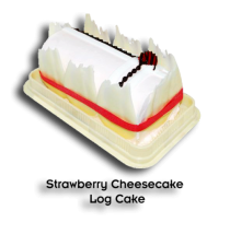 Strawberry Cheesecake by Bake & Churn