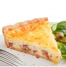 Quiche Lorraine by purple oven