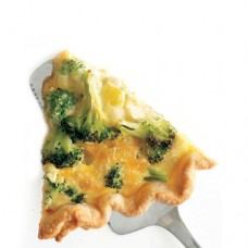 broccoli and cheese quiche by purple oven