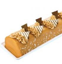 mocha caramel cake by goldilocks