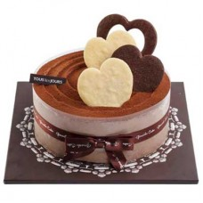 Chocolate Powder Cake by Tous les Jours
