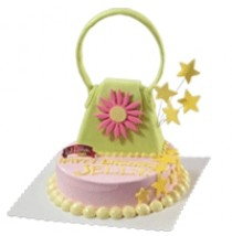 Handbag Cakes by Red Ribbon