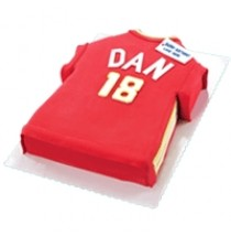 Soccer Shirt Cakes by Red Ribbon