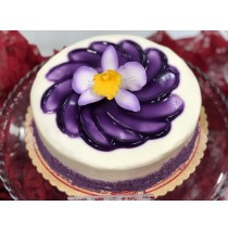 Ube Cake by Red Ribbon