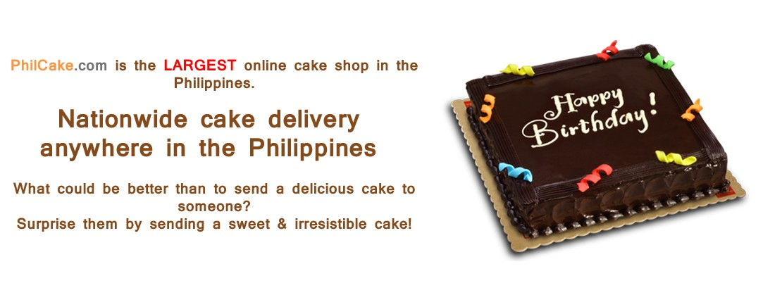 Philcake Com Cake Delivery Nationwide In The Philippines