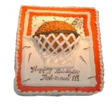 Basket Ball Cake by Kings Bakeshop