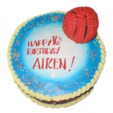 Basketball Sport Cake by Kings Bakeshop
