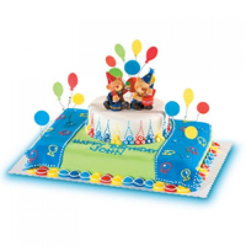 Bear Friends Cake by Red Ribbon