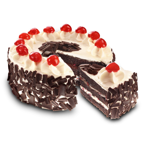 Red Ribbon Black Forest Cake Junior Size