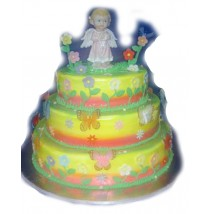 Biancas Fantasy Birthday Cake by Kings Bakeshop