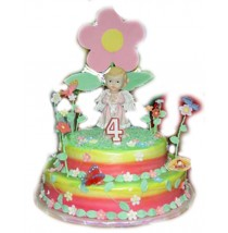 Bianca Garden Cake by Kings Bakeshop