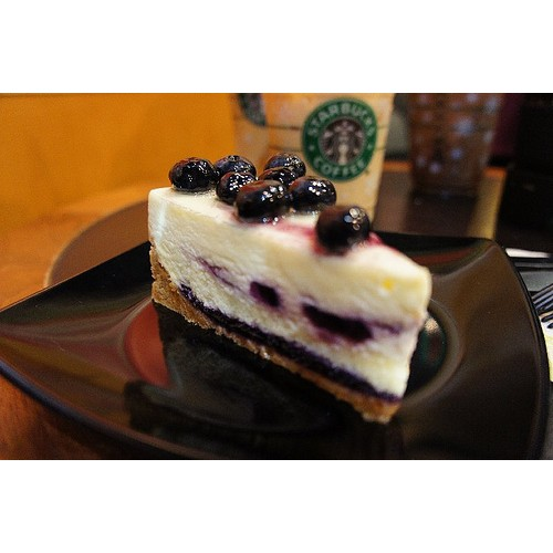 Blueberry Cheesecake By Starbucks