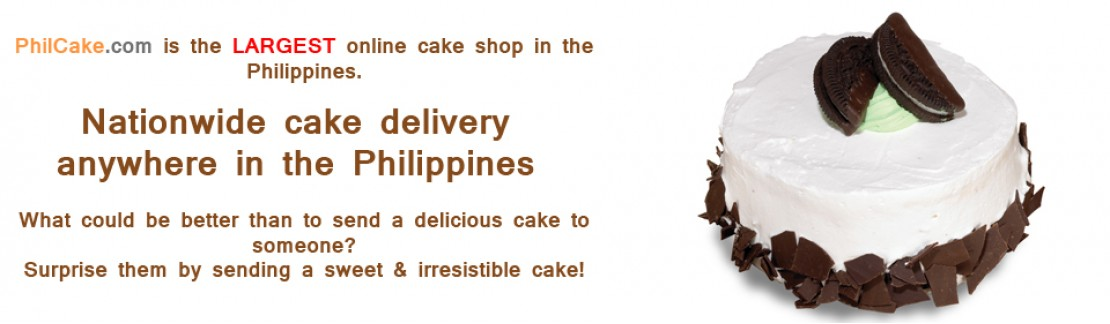 Cake delivery nationwide in the Philippines