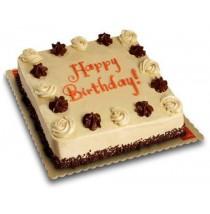 Mocha Dedication Cake by Red Ribbon