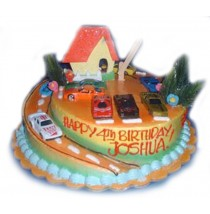 Drive Around Birthday Cake by Kings Bakeshop