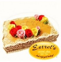 Caramel Cake Rectangular by Estrel's