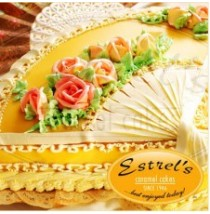 Caramel Fan Cake by Estrel's