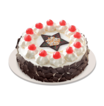 Christmas Black Forest Cake by Red Ribbon