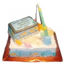 Fishing Birthday Cake by Kings Bakeshop