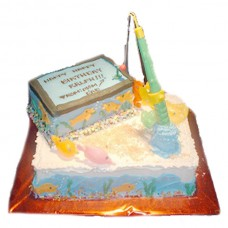 Fishing Birthday Cake by Kings Bakeshop