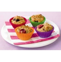 Fruited Muffins by Contis Cake