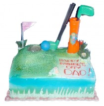 Golf Sport Cake by Kings Bakeshop