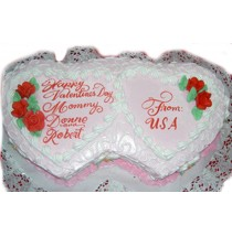 Hugs and Kisses Cake by Kings Bakeshop