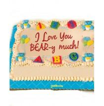 Hug A Bear Themed Greeting Cake by Goldilocks