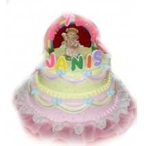 Janis Birthday Cake by Kings Bakeshop