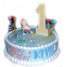 Kevin Birthday Cake by Kings Bakeshop