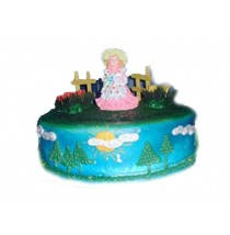 Little Daisy Birthday Cake by Kings Bakeshop