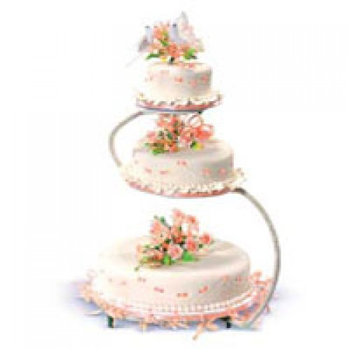 Debut Cake Designs Red Ribbon : Lovely in Peach Cake by Red Ribbon