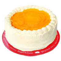 Sugar free Mango Torte Cake by Sugar House