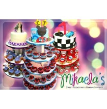 Delectable Chocolate Cupcakes and Fondant Cakes by Mikaela Sweet Creations
