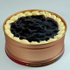 Blueberry 3 cheese can cake