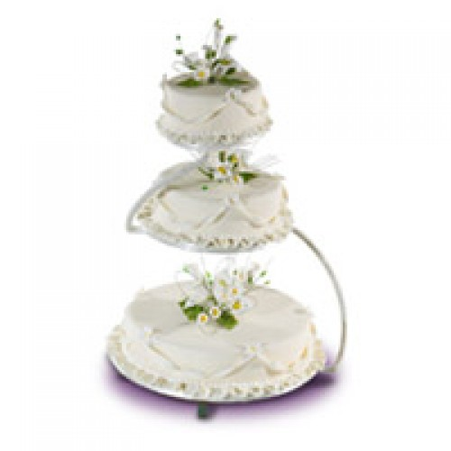 Lovely Calla Lily Cake By Red Ribbon
