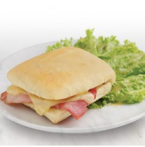 Ham and Cheese Ciabatta by Papermoon