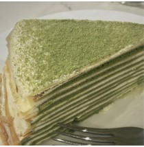 Matcha Mille Crepe by Papermoon