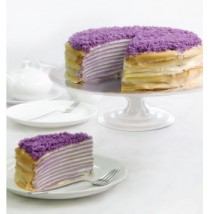 Ultimate Ube Mille Crepe by Papermoon