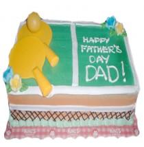 Pingpong Sport Cake by Kings Bakeshop