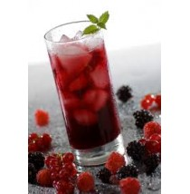 Raspberry Iced Tea by Mrs. Fields