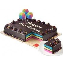 RAINBOW DEDICATION CAKE