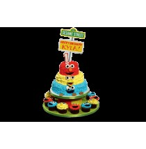 Sesame Street Elmo & Friends Cake by Red Ribbon