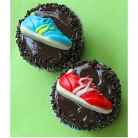 Runners Treat Cupcakes by Cookie Blossoms