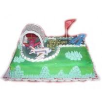 Runway Birthday Cake by Kings Bakeshop