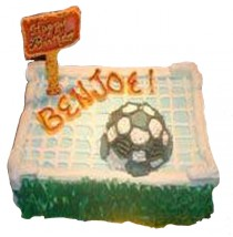 Soccer Cake by Kings Bakeshop