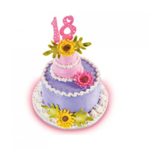 Spring flowers cake by red ribbon mightylinksfo