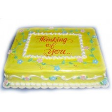 Thinking of You Cake by Kings Bakeshop