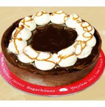 Turtle Pie Cake by Sugar House